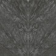 Dark Grey Bookmatch Decor