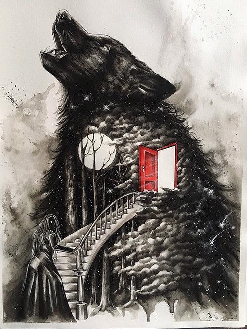 Moonlight spell:The red door