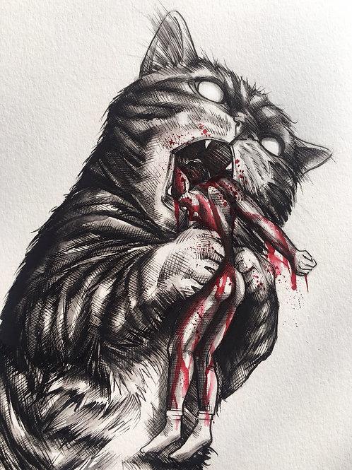 Snacky snack puss
