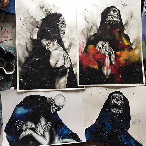 Galactic Grim Reaper trilogy