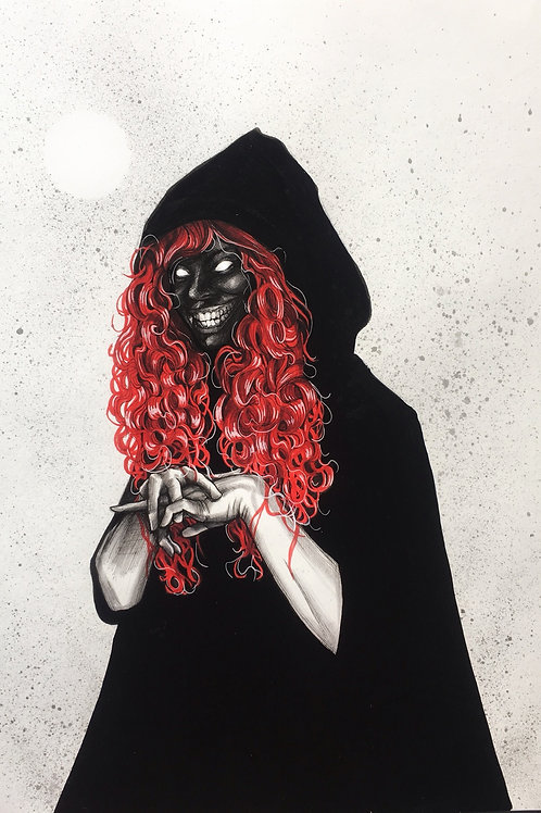 The red shadow
