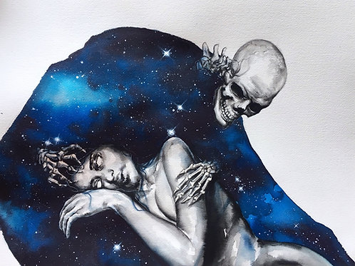Come with me to your eternal sleep
