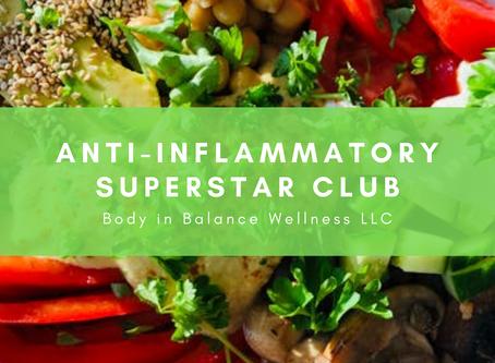 Anti-Inflammatory Superstar Club