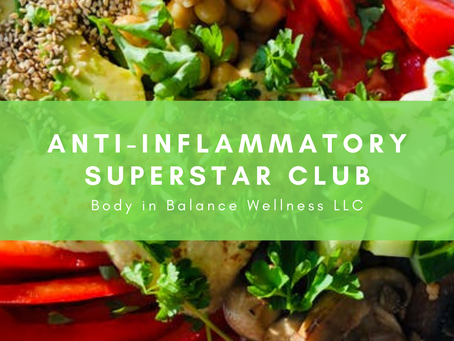 Anti-Inflammatory Superstar Club