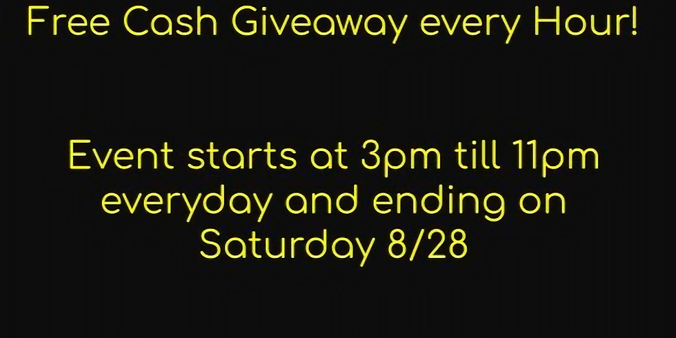 $250 Giveaway Every Hour