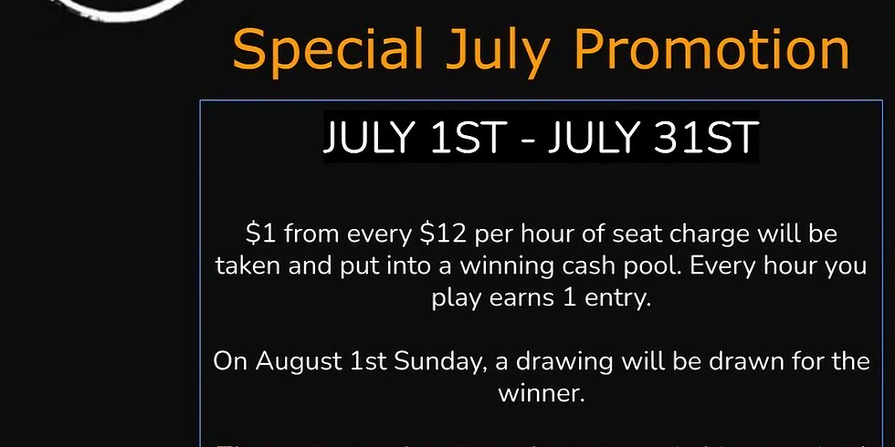 July Promo Event
