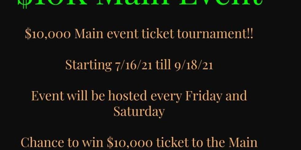 $10K Tournament Event