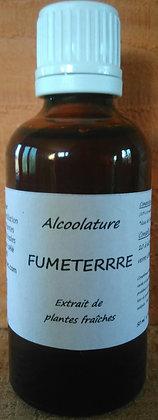 Alcoolature Fumeterre (Fumaria officinalis) biologique Teinture mère Extrait plante fraîche constipation psoriasis calculs bi