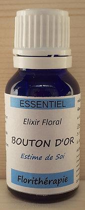 elixir floral elixirs floraux docteur bach bouton d or (ranunculus acris) bio artisanal gestion émotions émotionnel