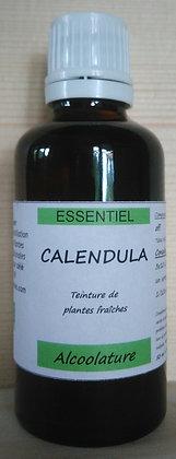 Alcoolature Calendula officinalis Teinture mère Extrait plante fraîche soin de la peau, cicatrisant,cure dépurative,