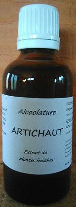 Alcoolature Artichaut (Cynara scolymus) biologique Teinture mère Extrait hydro alcoolique disgestion foie constipation detox
