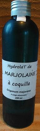 Hydrolat Majolaine à coquille (Origanum majorana) Eau florale Grippe Infection Digestion difficile Douleurs Calmant