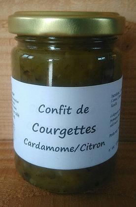confit courgette bio cardamome/citron