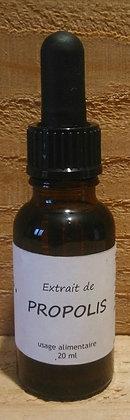 Extrait teinture mère de Propolis bio liquide en spray ou pipette Soin gorge Maux de l'hiver