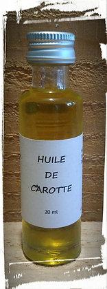 Macérat huileux de Carotte bio 100 % pure et naturelle Soin de la peau Cosmétique naturelle Bronzage naturel bio