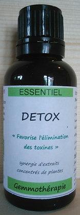 gemmothérapie bio synergie détox bourgeons bouleau frene genévrier detoxiquer detoxination cure jouvence cure foie nettoyage