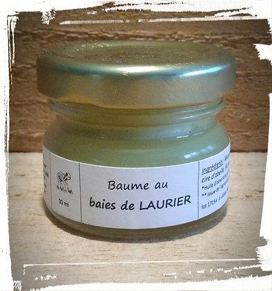 Macérat huileux Baume Baies de Laurier bio Cosmétique naturelle Soin de la peau naturel bio