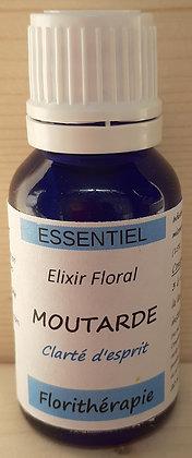 elixir floral moutarde bio fleurs de bach renaissance florithérapie production artisanale haute qualité vibratoire