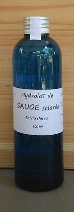 hydrolat eau florale sauge sclarée bio soin de la peau