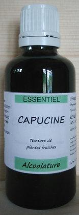 Alcoolature Capucine (Tropaeolum majus) biologique Teinture mère Extrait plante fraîche chute cheveux anti biotique naturel