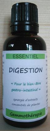 gemmothérapie bio synergie disgestion bourgeons figuier noyer pissenlit biologique gastro intestinal intestins confort digest