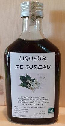 Liqueur artisanale Sureau biologique Liqueur apéritive digestive apéritif digestif sureau bio