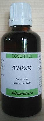Alcoolature de Ginkgo (Ginkgo biloba) biologique Teinture mère Extrait plante fraîche Mémoire Concentration Circulation céréb