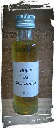 Macérat huileux de Calendula bio Cosmétique naturelle Soin de la peau naturel bio