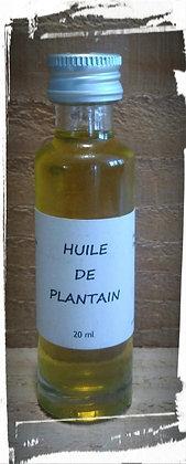 Macérat huileux de Plantain bio Cosmétique naturelle soin de la peau naturel