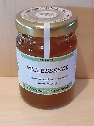 Miel biologique de l'Aveyron aux huiles essentielles bio et à la Propolis bio Artisanal Maux de gorge