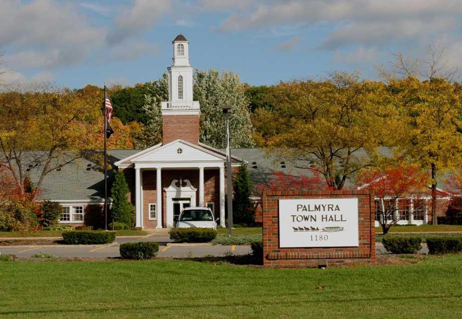 Palmyra NY Town Hall, 1180 Canandaigua Rd, Palmyra NY 14522