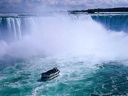 The Maid of the Mist at Niagara Falls NY