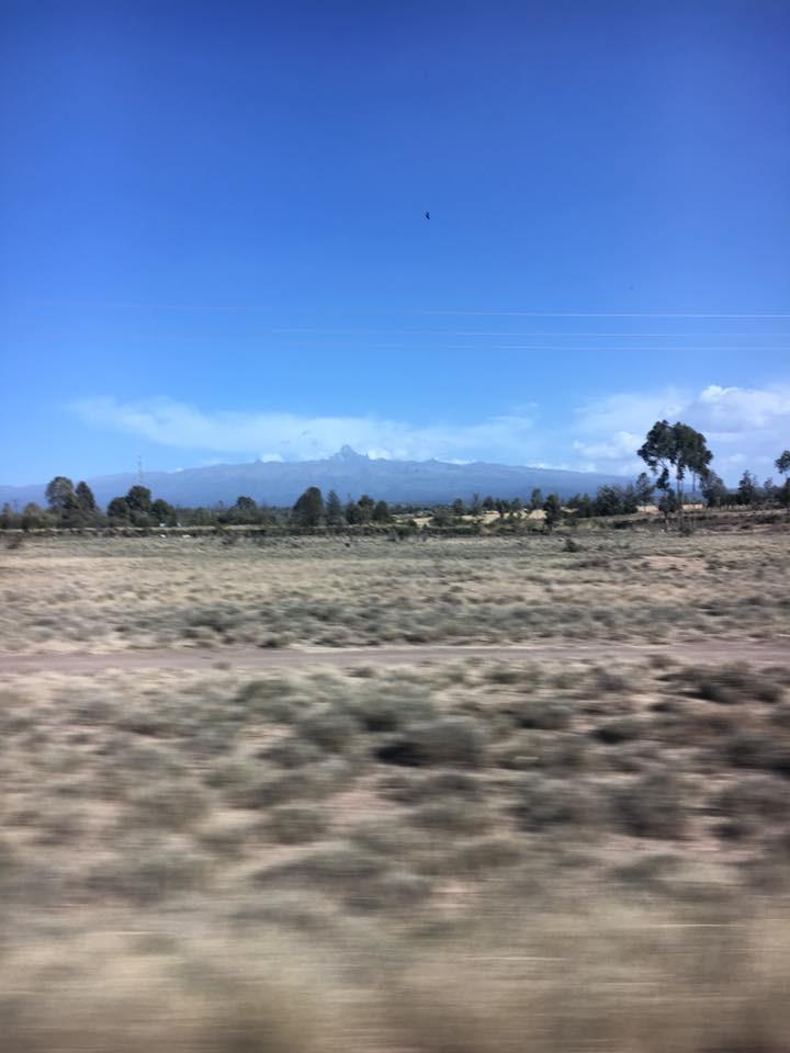 This is Mount Kenya