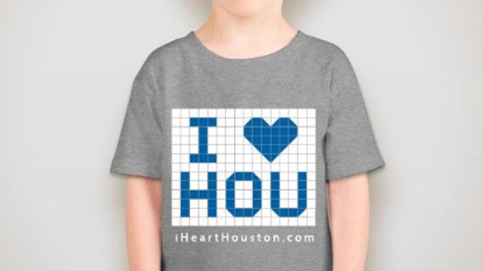 I Heart Hou T-Shirt (Kids)