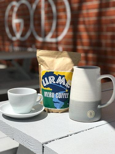 Whole Bean Coffee - 12oz Kenya AA+ Med/Light Roast