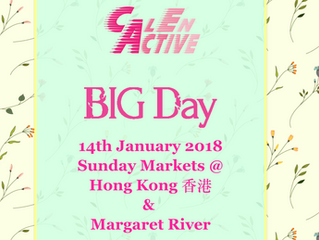 CalenActive BIG MARKET DAY on 14 Jan 2018