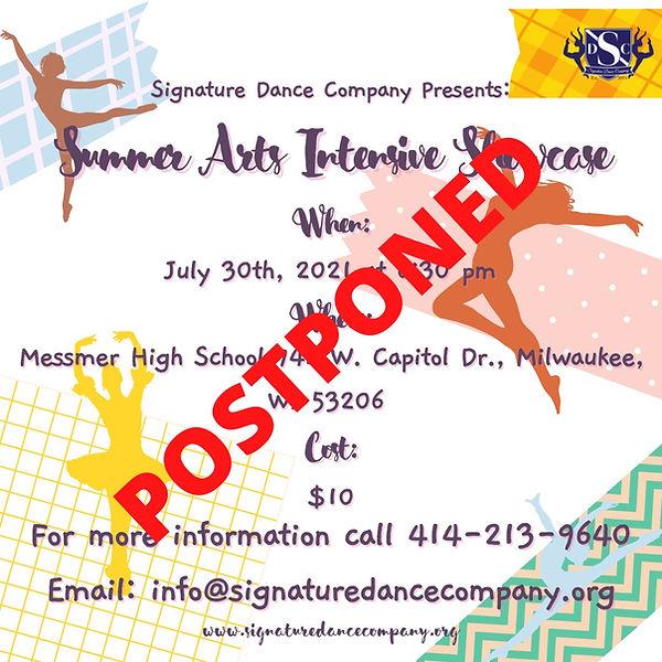 Summer Arts Intensive Showcase postponed.jpeg