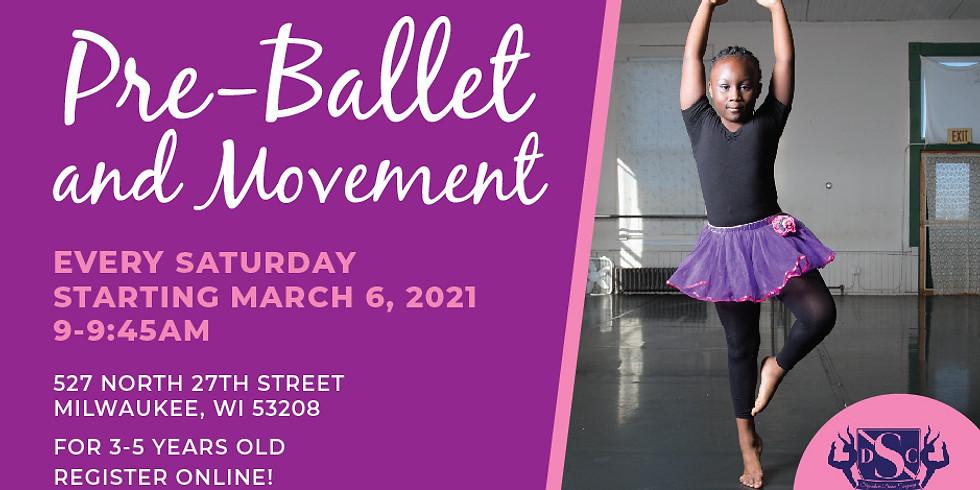 Spring 2021 Pre-Ballet - Saturdays