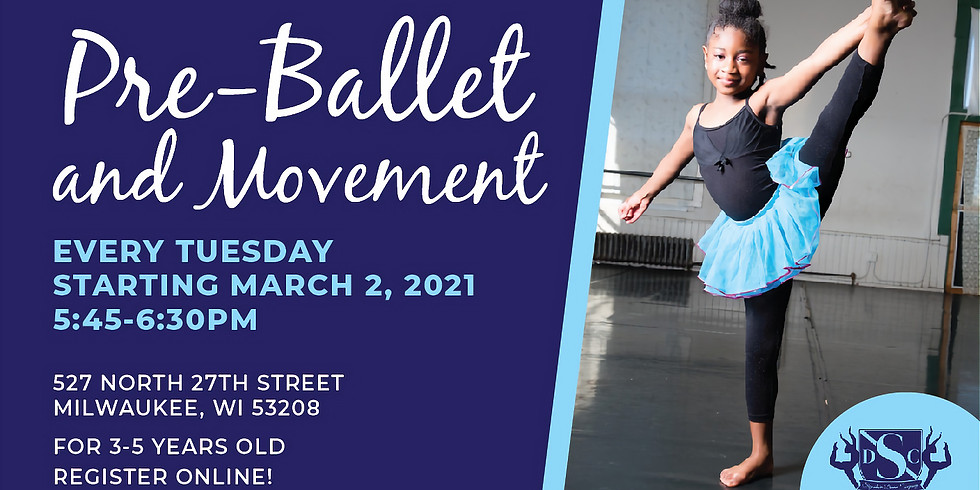 Spring 2021 Pre-Ballet - Tuesdays