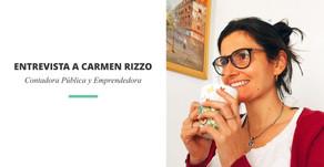 Carmen Rizzo   Contadora Pública y Emprendedora. Poniendo luz al mundo de las finanzas emprendedoras