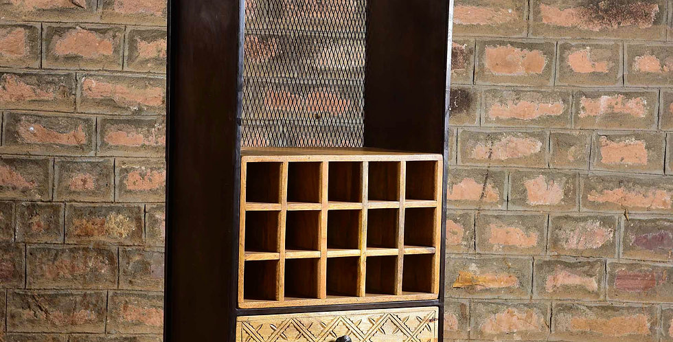 Iron & Wood Rack
