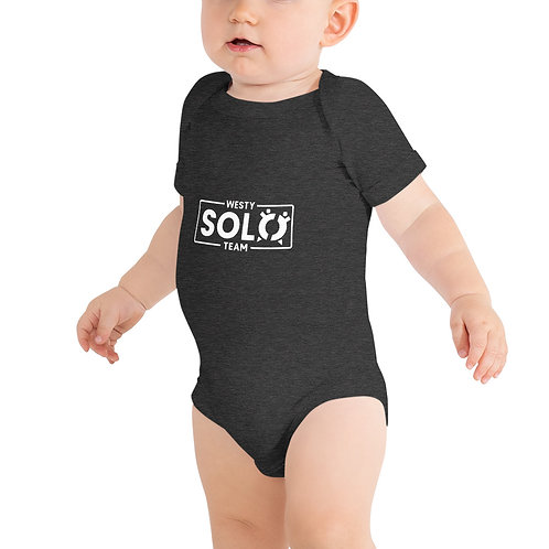 Baby Short Sleeve One Piece | Westy Solo Team