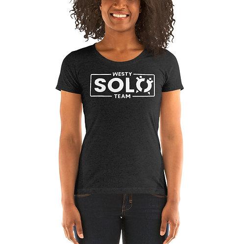 Women's Tri-Blend Tee | Westy Solo