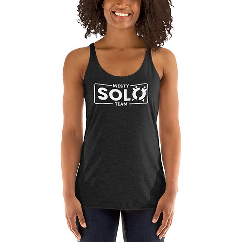 Women's Racerback Tank Top | Westy Solo