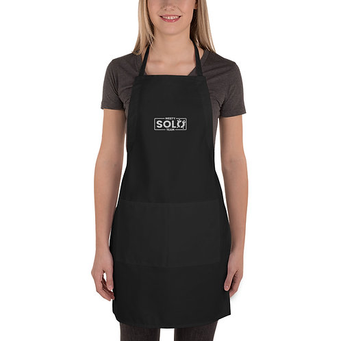 Embroidered Westy Solo Team Apron