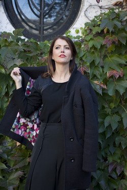 Manteau Clara noir