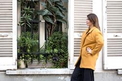 Manteau Charlotte jaune