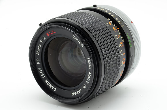 CANON  FD 35mm F2 S.S.C ID 2b0740916