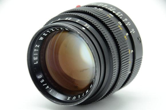 LEICA  ズミルックスM50mm F1.4 Ver2 ブラック ID 2b0743258