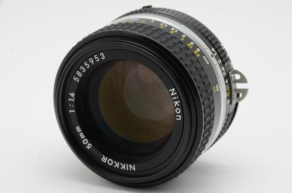 NIKON Ai 50mm F1.4S   ID 2b0727934